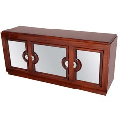 Art Deco Machine Age Style Sideboard