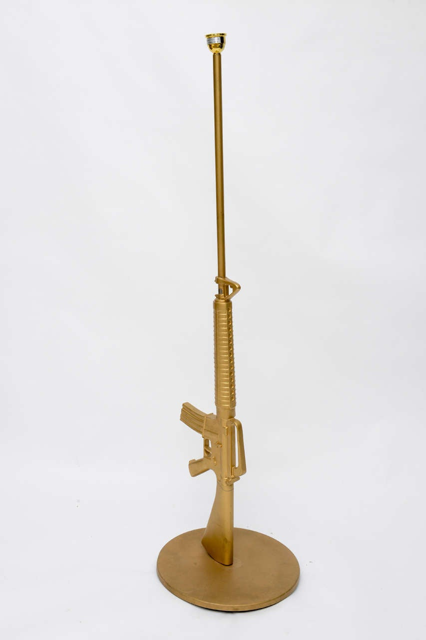 Philippe Starck Machine Gun Lamp 20th Century For Sale At