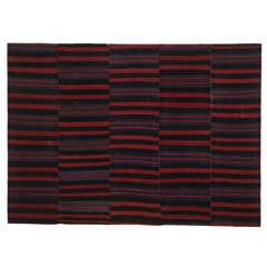 Vintage Tibetan Striped Nambu Textile