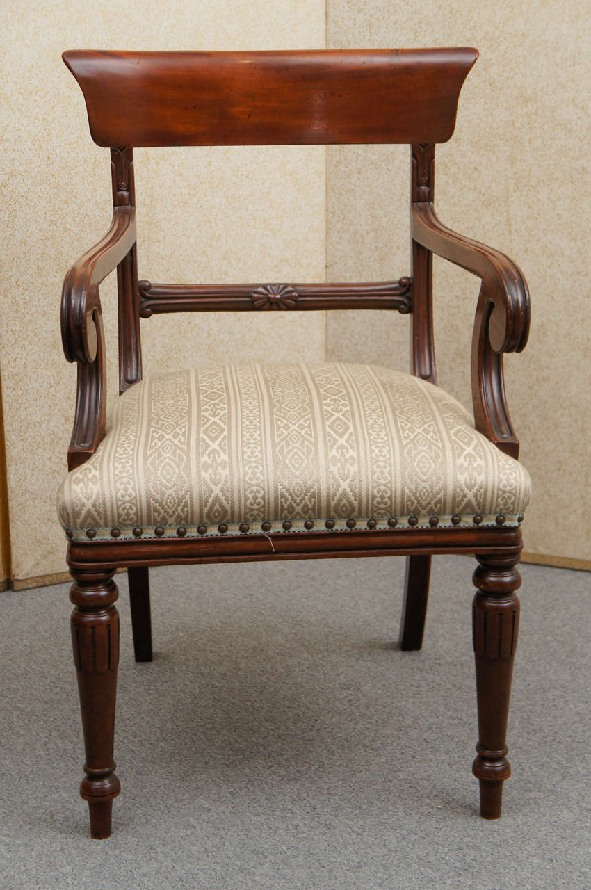 Set Of Twelve William Iv Style Chairs At 1stdibs