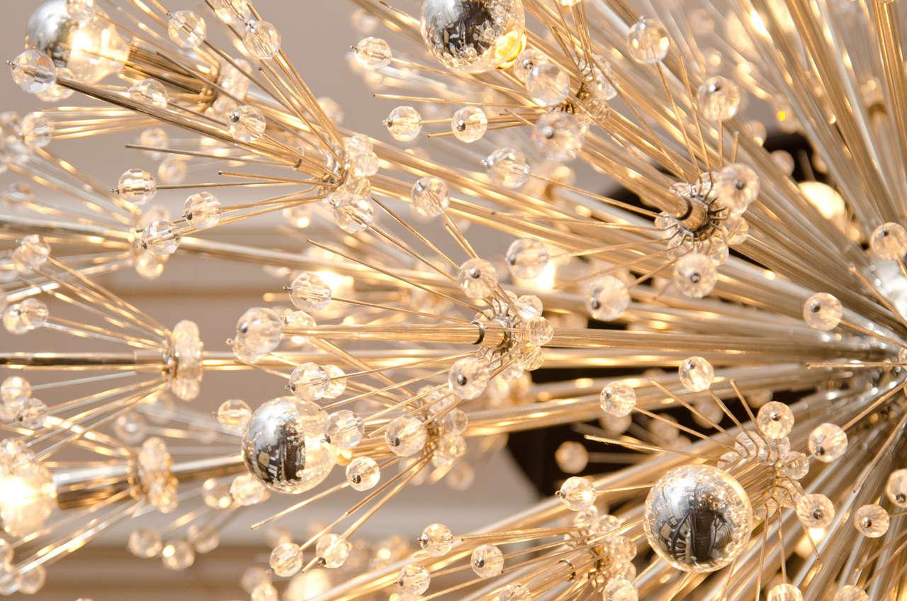 Monumental Crystal Esprit Sputnik Chandelier For Sale 1