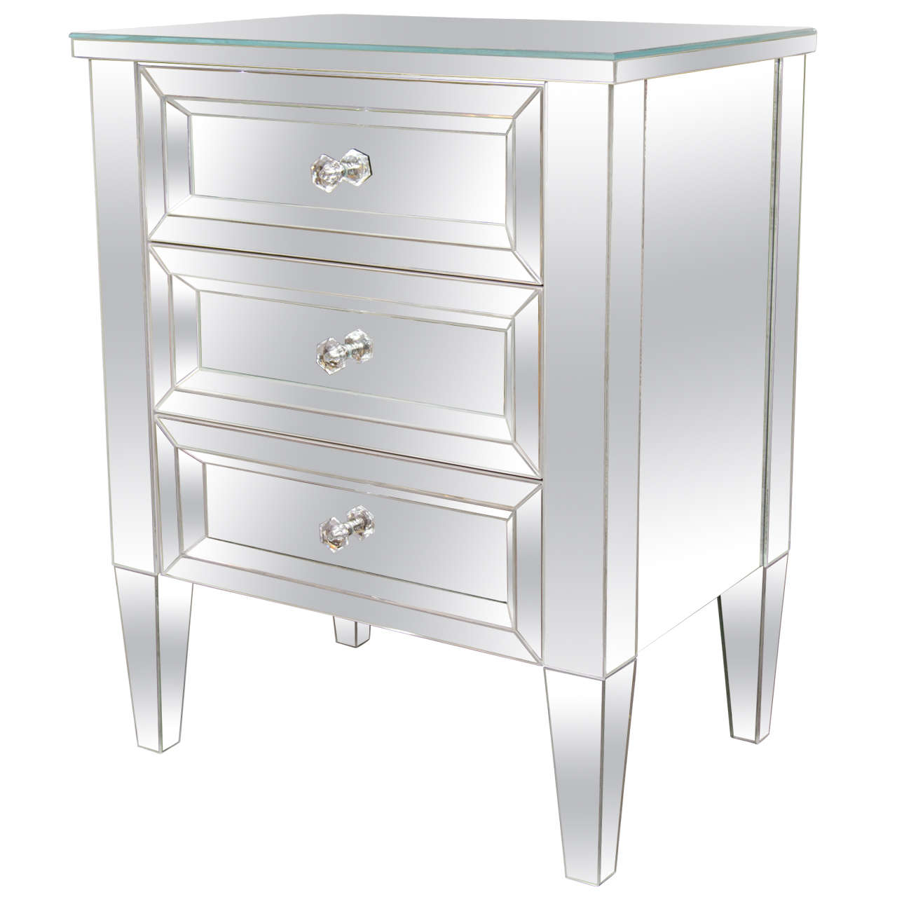 drawer morocco mirrored styles of drawers chest large