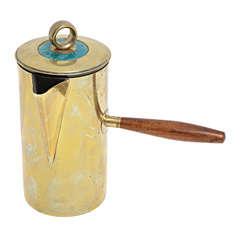 Georges Briard Brass Pitcher