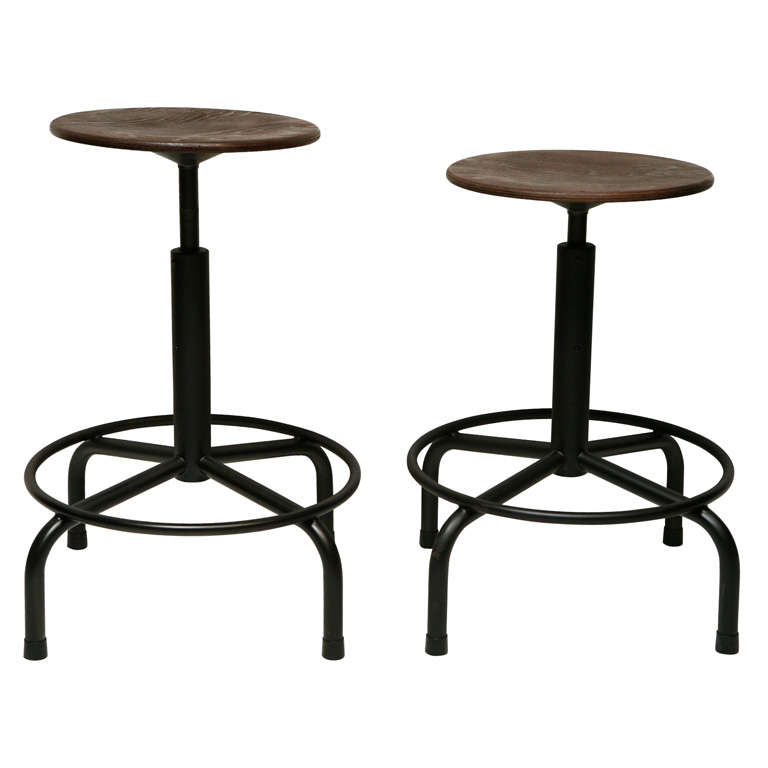 Friso Kramer Adjustable Stool At 1stdibs