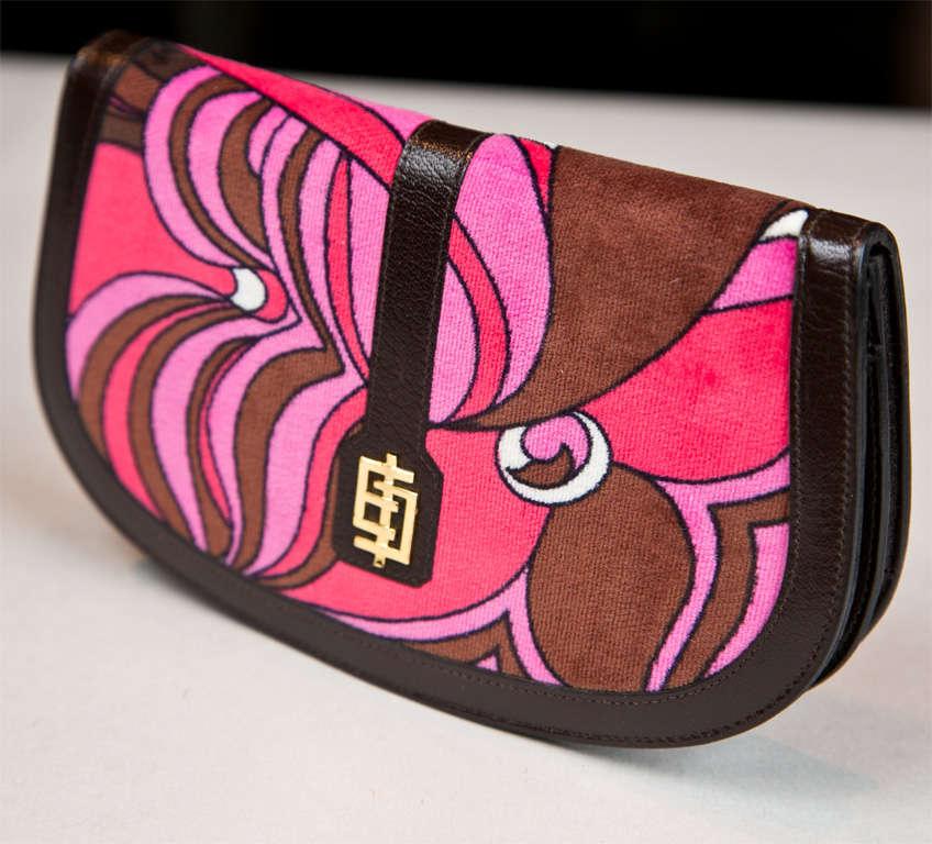 Pucci velvet clutch wallet 2