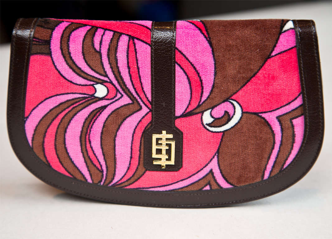 Pucci velvet clutch wallet image 3