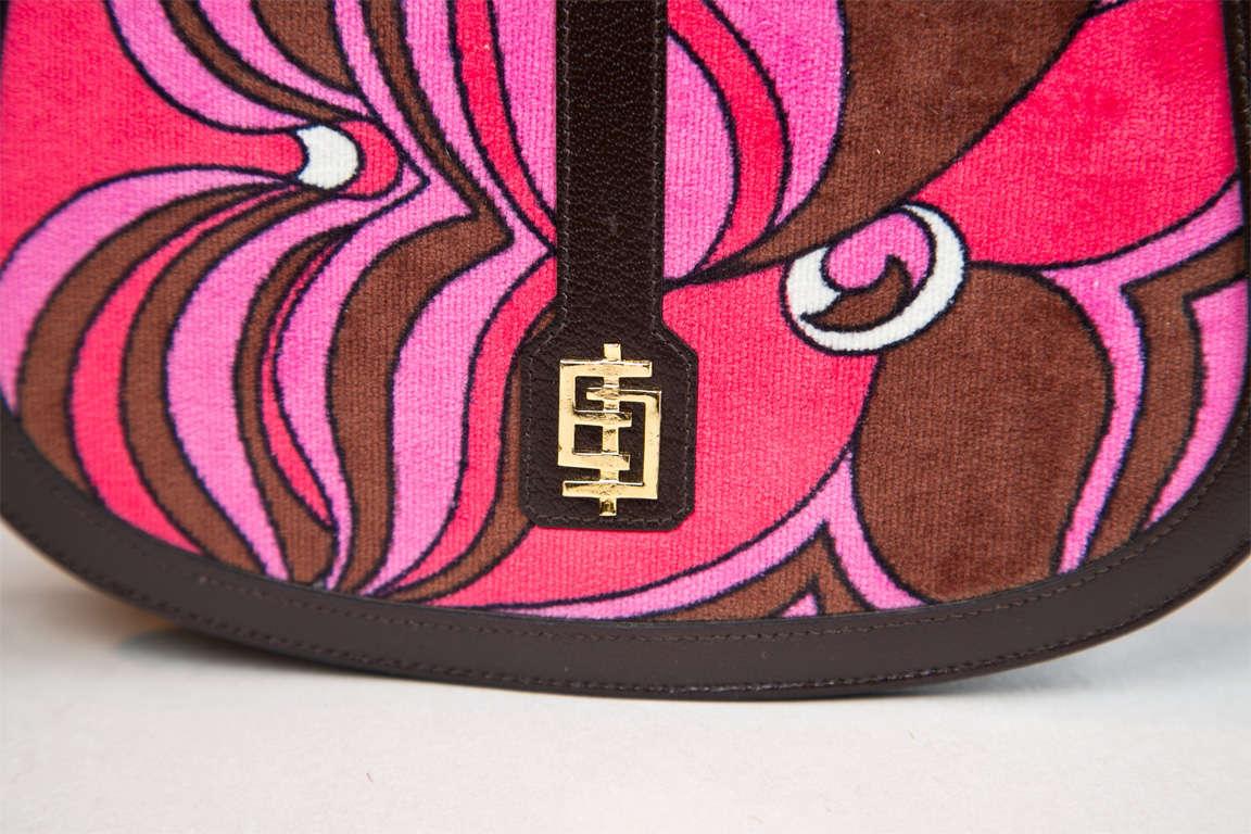Pucci velvet clutch wallet image 4
