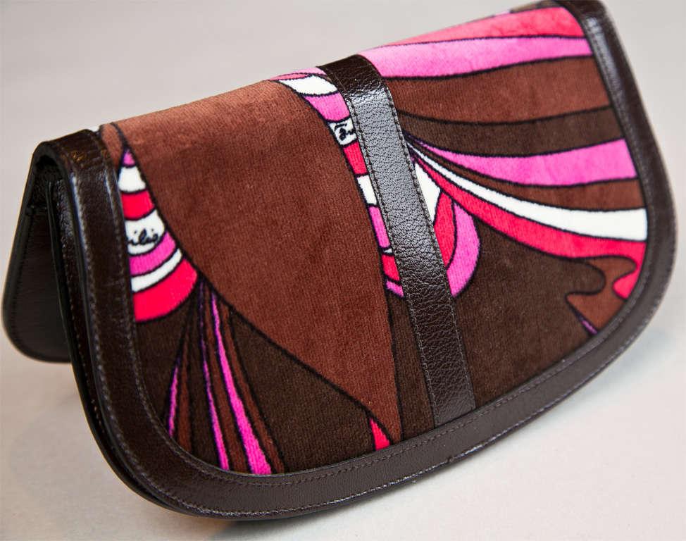 Pucci velvet clutch wallet image 5