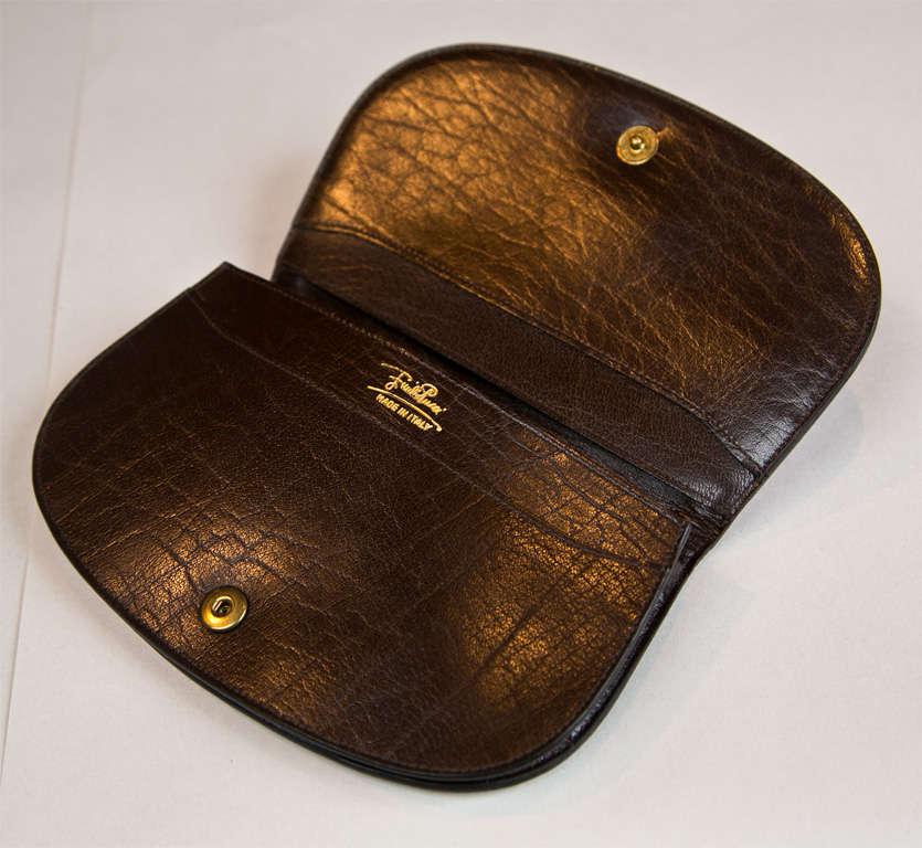 Pucci velvet clutch wallet 6