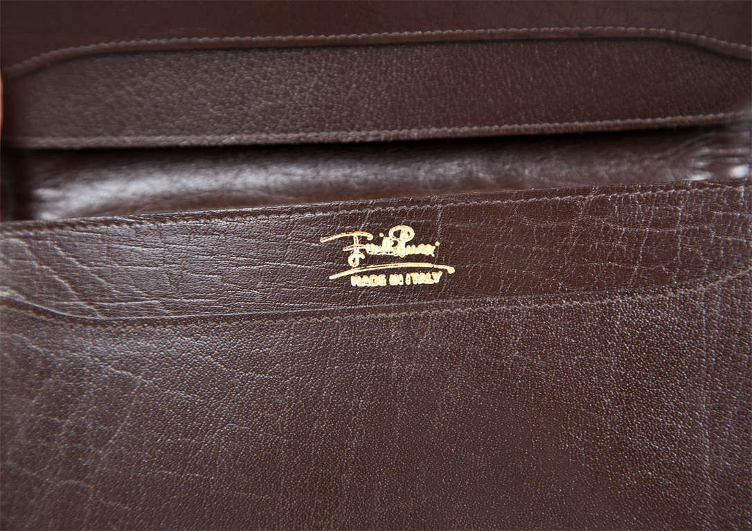 Pucci velvet clutch wallet 7