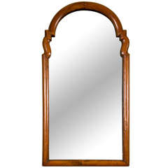 Dutch Walnut Framed Mirror