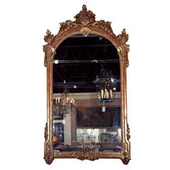 Impressive Palatial Size Italian  Mirror