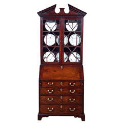 George III Secretary Bookcase