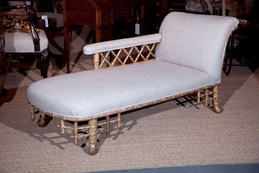 English regency chaise at 1stdibs - Chaise longue in english ...