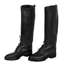 Vintage Chanel Riding Boots size 10 US, 40 EU