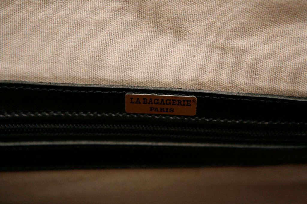 Elegant Classic Doctor Black Leather travel Bag 9