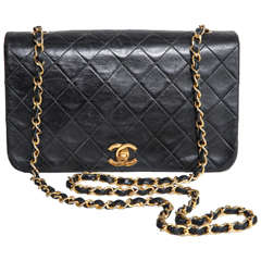 Chanel Small Classic Quilted Black Shoulder Bag