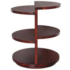 Rare Art Deco Lamp Table in Manner of Deskey-Vollmer