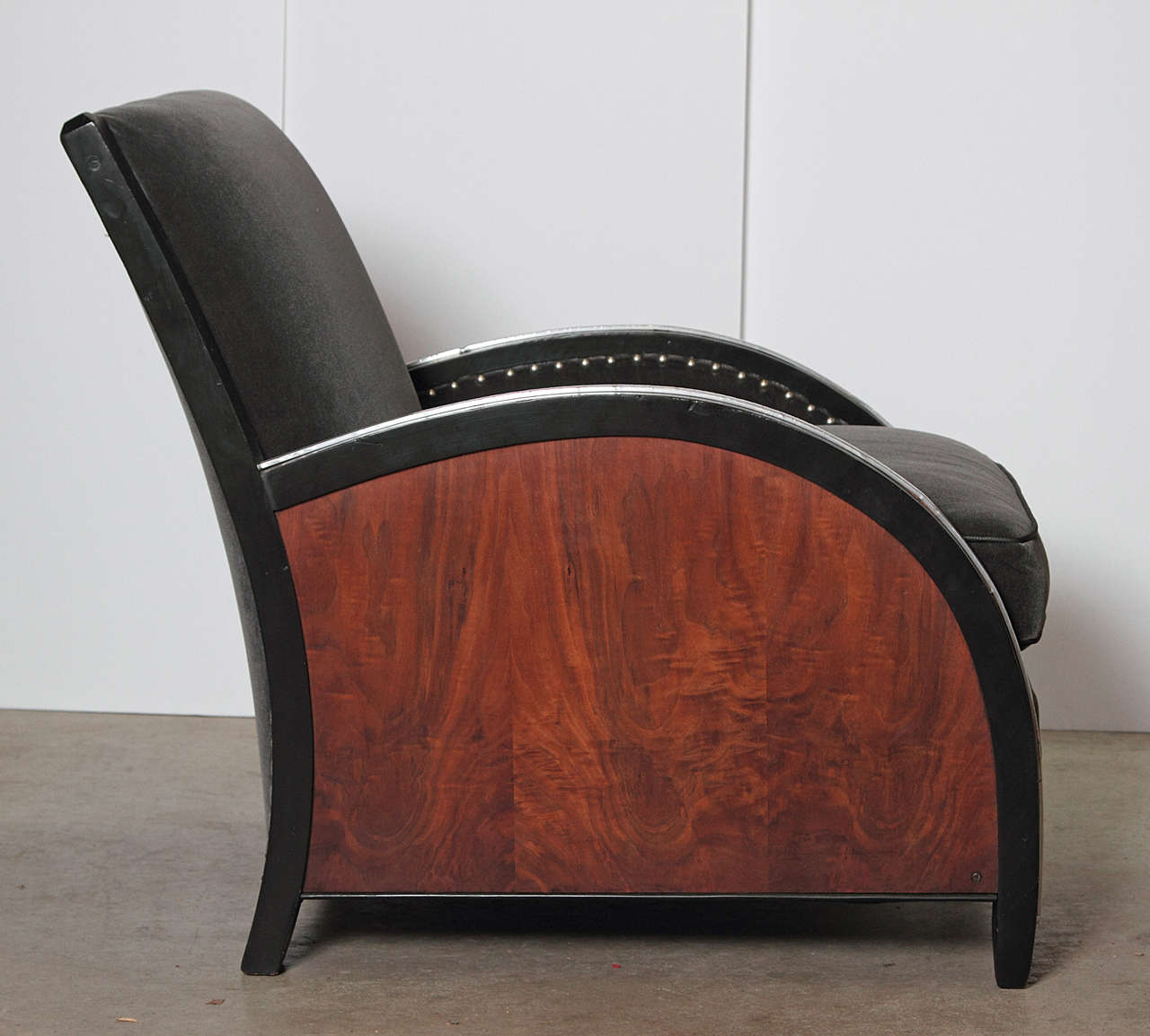 Cf Sze L The Deco Haus: Amazing Art Deco Lounge Chair By Hastings, Modernage Or