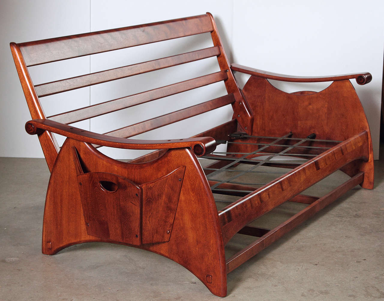 Gilbert Rohde Art Deco sofa and coffee table for Heywood Wakefield. Price reduced from $5800.  Documented