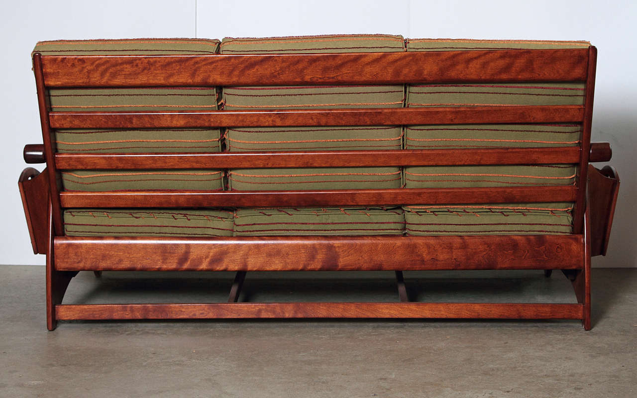 American Gilbert Rohde Art Deco Sofa and Coffee Table Heywood Wakefield Reduced For Sale