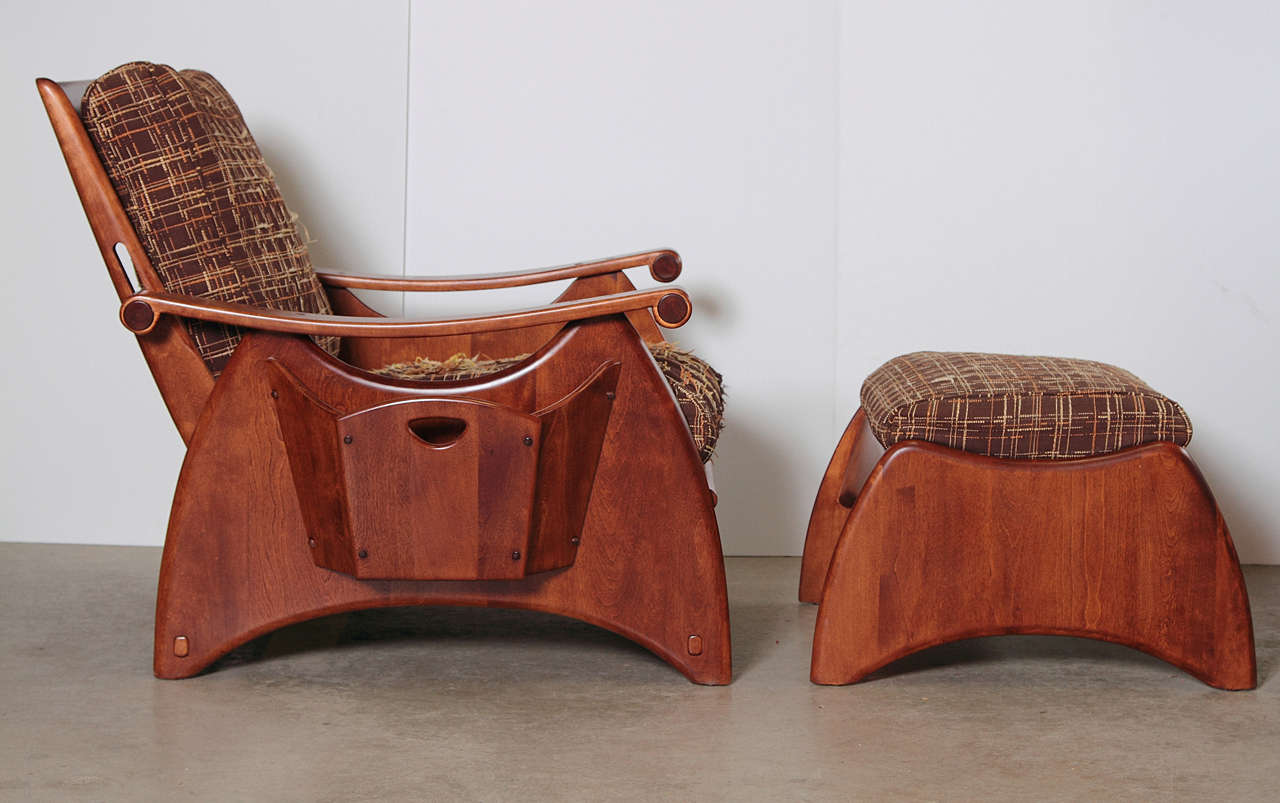Gilbert Rohde Art Deco Heywood Wakefield Seating with Original Fabric, Reduced In Good Condition For Sale In Dallas, TX