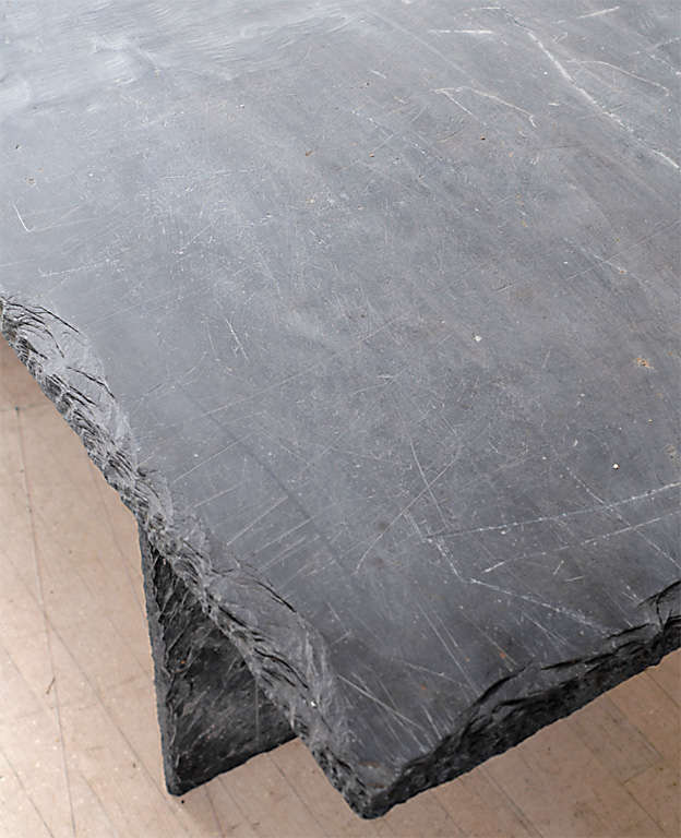 Rectangular Slate Table from the Loire Valley image 5