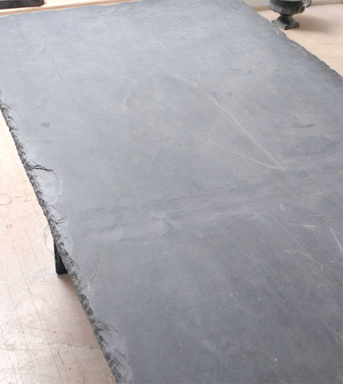 Rectangular Slate Table from the Loire Valley image 6