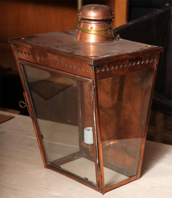 19th Century Wall Lantern For Sale 3