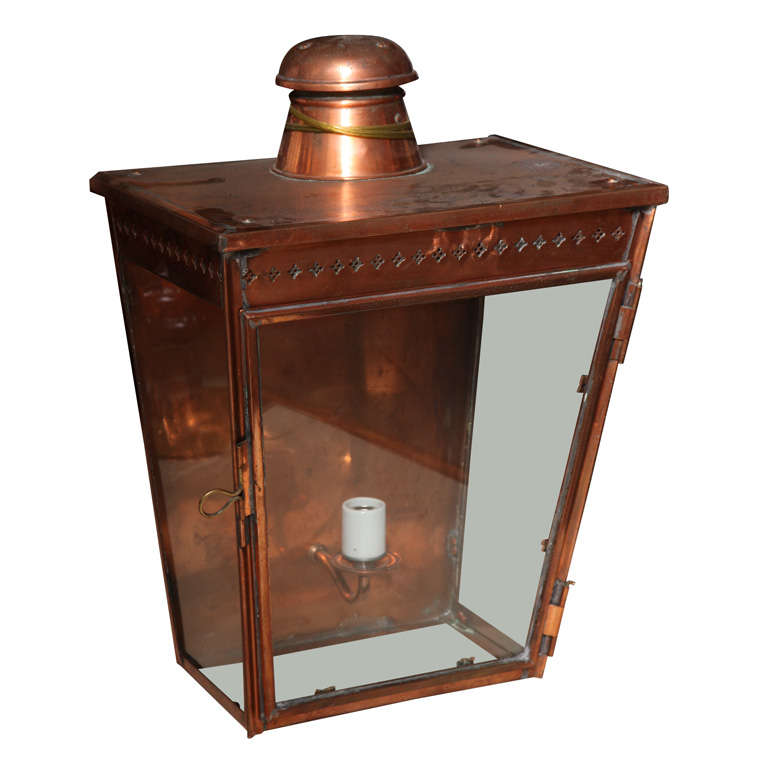 19th Century Wall Lantern For Sale