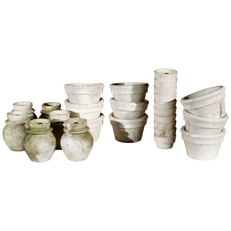 Unglazed French Pottery For Sale