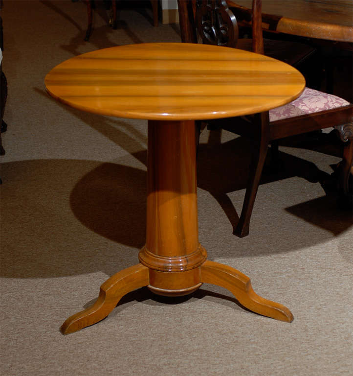 Restoration Period Tilt Top Table At 1stdibs