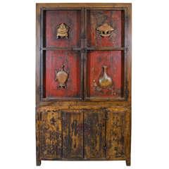 Chinese Book Cabinet, circa 1800