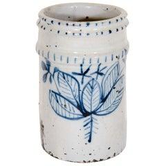 Antique Ceramic Brush Holder