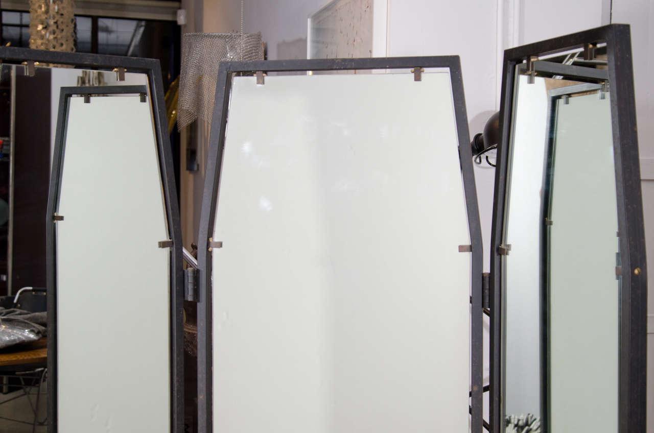Full Length Three Way Italian Mirror At 1stdibs