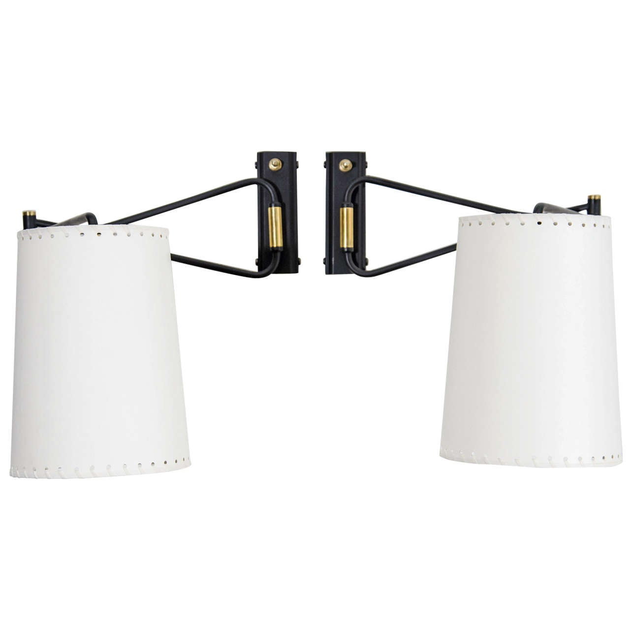 Lunel Swing Arm Sconces