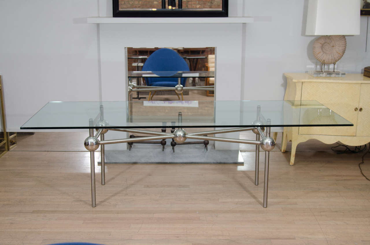 Mid-Century Console Table 2