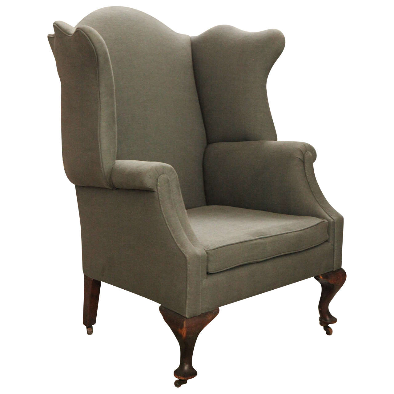 Early American Wingback Chair New England Late 18th