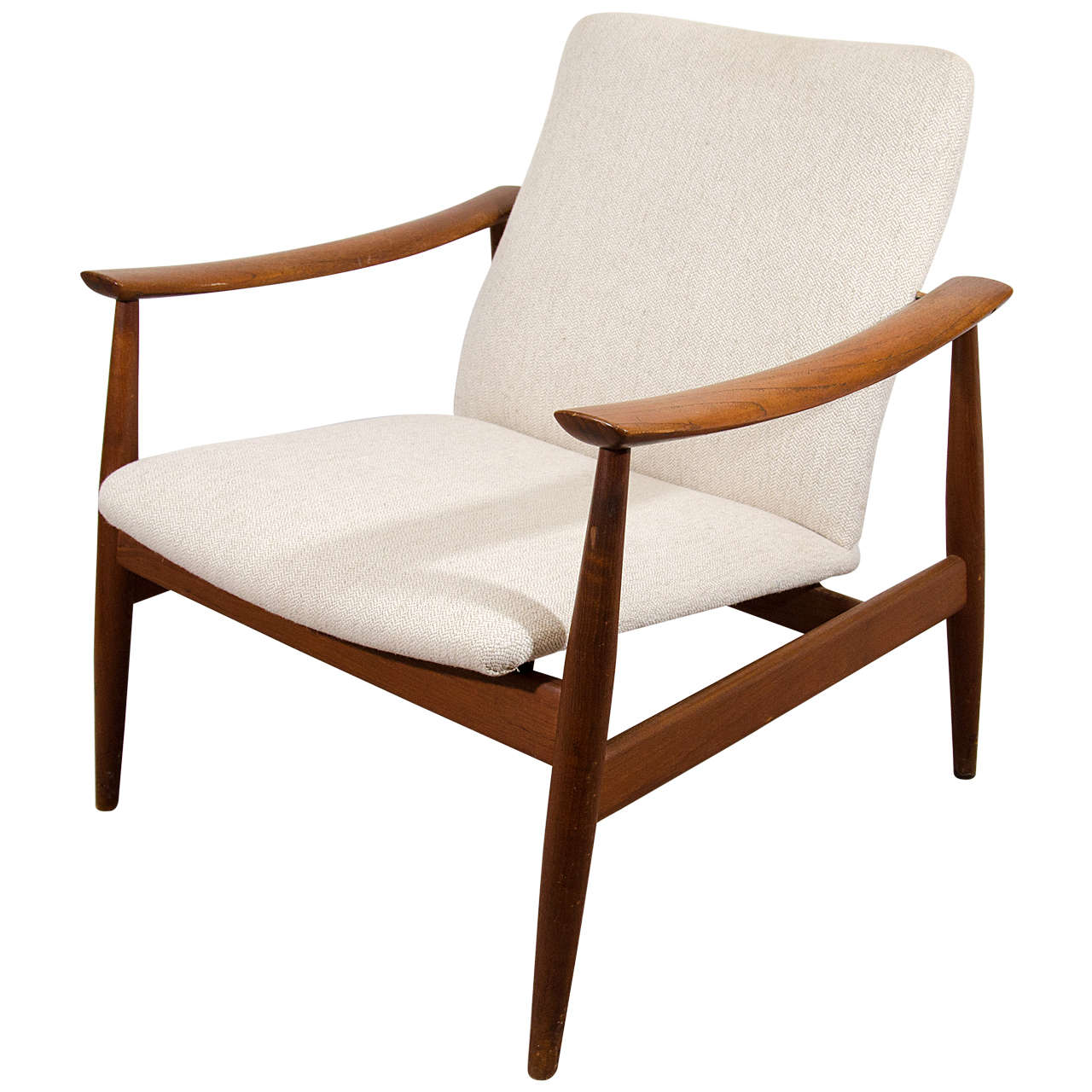 Captivating Midcentury Lounge Chair By Finn Juhl For France U0026 Sons 1