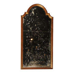 Gilded Foxed Mirror