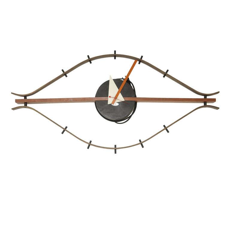 george nelson eye clock at 1stdibs. Black Bedroom Furniture Sets. Home Design Ideas