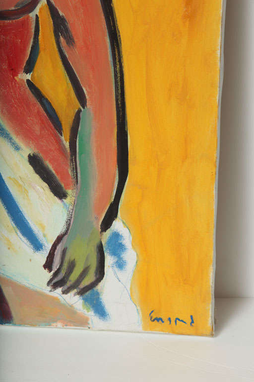 Expressionist Painting by Wayne Ensrud, 1994 For Sale