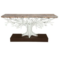 """Arbre"" Sculptural Console Table by Alexandre Logé"