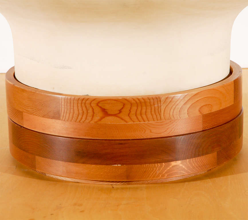 American John Follis Model #F7 Bisque Unglazed Architectural Pottery For Sale