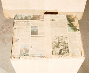 Niels Hvass Newspaper Chair and Ottoman thumbnail 4