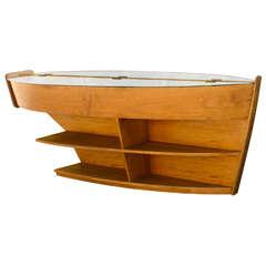 Superb Vintage Boat Table