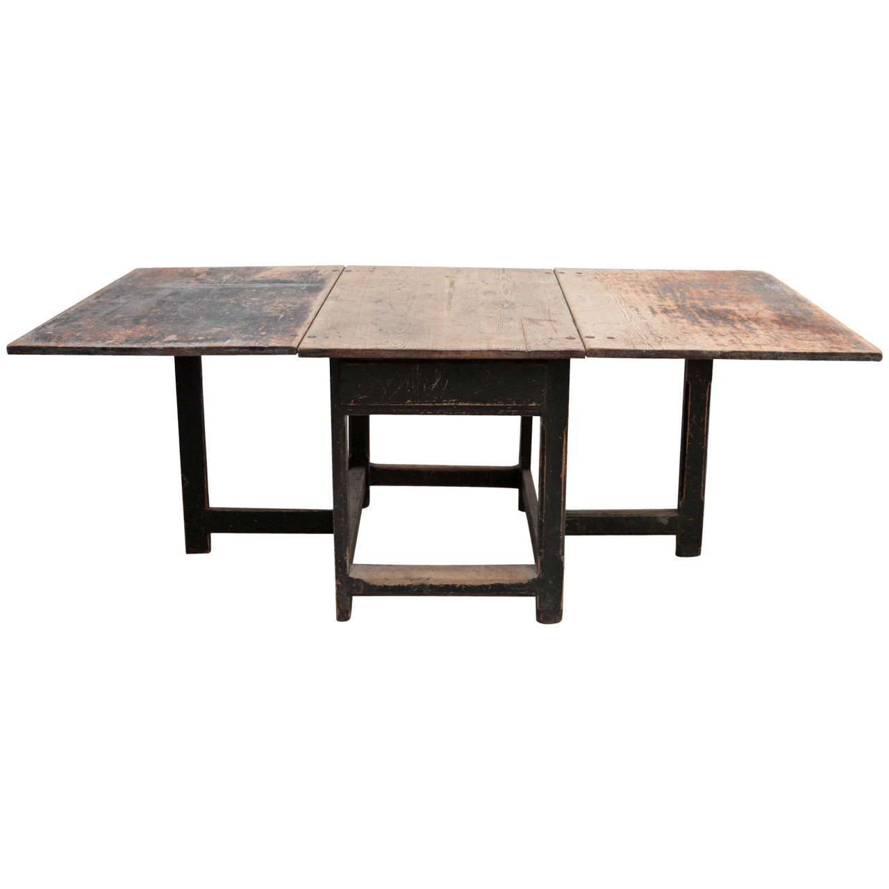 Large Swedish Gateleg Table 18th Century At 1stdibs. Full resolution  image, nominally Width 1280 Height 1280 pixels, image with #836048.