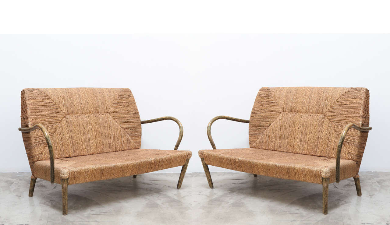 A Pair of Loveseats - Belgium 1970s image 2