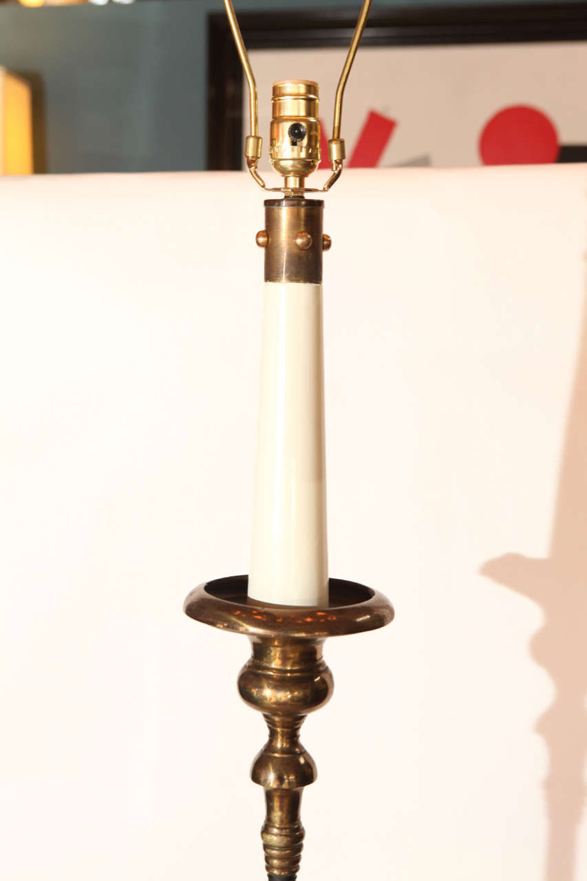 Italian Hollywood Regency Floor Lamp For Sale At 1stdibs