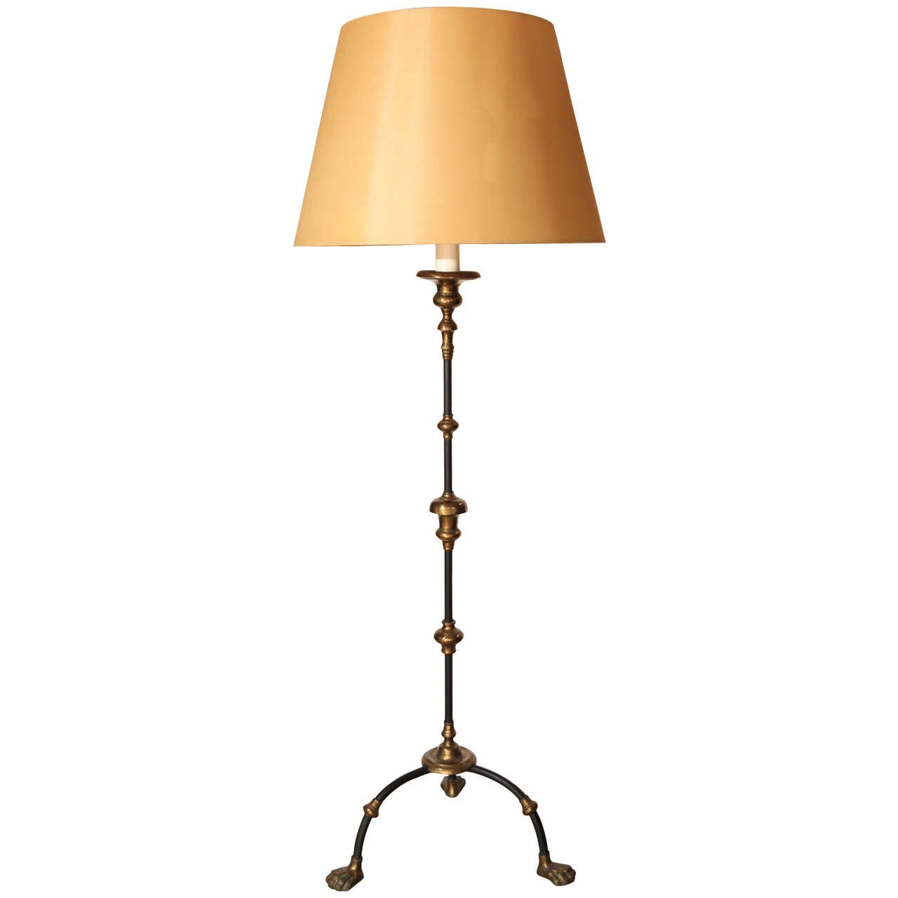 Italian Hollywood Regency Floor Lamp